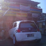 Photo taken at Indo Mart Jl. Laut Arafuru by Ryzco R. on 5/3/2013