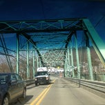 Photo taken at West Newton Bridge by Anthony B. on 3/29/2013