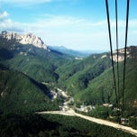 Photo taken at Seorak Sogongwon Cable Car Tour by poon007 on 10/8/2012