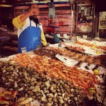 Photo taken at Poissonnerie Pepone by Mathieu M. on 9/22/2012