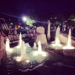Photo taken at Broyhill Fountain by Keith G. on 8/25/2013