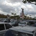 Photo taken at Mega Parque Estacionamento by Vittorio L. on 2/26/2012