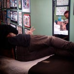 Photo taken at New York Hardcore Tattoos by Jey N. on 3/20/2015