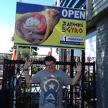 Photo taken at Little Athens Gyro by Melanie R. on 8/9/2013