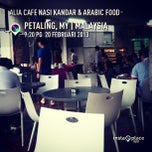 Photo taken at Alia Cafe Nasi Kandar & Arabic Food by Namiedagreat N. on 2/20/2013