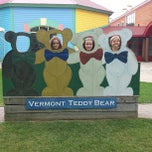 Photo taken at Vermont Teddy Bear Factory by Jonathan G. on 8/31/2013