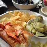 Photo taken at Sam's Chowder House by Elayne on 7/28/2013