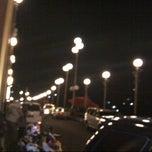 Photo taken at Jembatan Siti Nurbaya by citra M. on 12/16/2012
