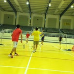 Photo taken at Salah AlDin Sports Hall صالة صلاح الدين الرياضية by Michelle M. on 3/15/2013