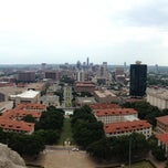 Photo taken at UT Tower Observation Deck by Dylan D. on 8/15/2013
