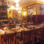 Photo taken at Bistrot Garçon (Бистро Гарсон) by Mikhail G. on 2/26/2013