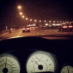Photo taken at Sheikh Mohammad Bin Zayed Rd by Rahul V. on 11/8/2013