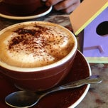 Photo taken at Los Gatos Coffee Roasting Co. by Vickie C. on 2/23/2013
