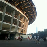 Photo taken at Lapangan A Senayan by Arif F. on 5/3/2013