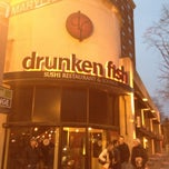 Photo taken at Drunken Fish by Breezy K. on 3/23/2013