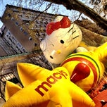 Photo taken at Macy's Parade Balloon Inflation 2012 by Jasmine F. on 11/21/2012
