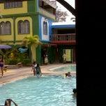 Photo taken at Almarius Resort by Wenda M. on 4/18/2011