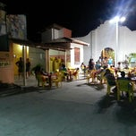 Photo taken at Pizzaria Fundo De Quintal by Fredson C. on 3/24/2013