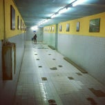 Photo taken at Stasiun Depok Baru by Made A. on 6/22/2013