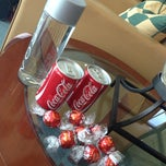 Photo taken at Emirates Lounge by Simon W. on 6/30/2014