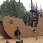 Photo taken at Pirate Ship Playground by Cruise B. on 8/31/2013
