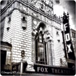 Photo taken at Fabulous Fox Theatre by Erin T. on 10/8/2012