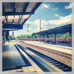 Photo taken at Speyer Hauptbahnhof by Benjamin H. on 6/16/2013