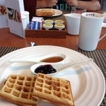 Photo taken at CafeSWISS by Somik R. on 8/16/2014