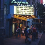 Photo taken at Cinema Village by Sameer on 9/15/2012