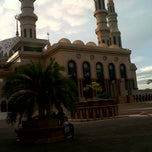 Photo taken at Masjid Islamic Centre by Fandy M. on 1/11/2013