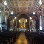 Photo taken at Old Saint Mary's Catholic Church by Emily V. on 7/13/2013