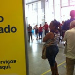 Photo taken at Banco do Brasil by Leo T. on 1/4/2013
