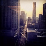 Photo taken at Inn of Chicago Rooftop Bar by Chloe N. on 4/10/2013
