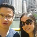 Photo taken at Chicago Water Taxi (Michigan) by Faye C. on 6/26/2014