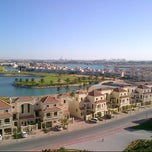 Photo taken at Al Hamra Village by SayEJay on 1/1/2013