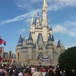 Photo taken at Cinderella Castle by Pedro D. on 2/15/2013