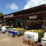 Photo taken at Kahuku Land Farms Fruit Stand by B W. on 5/18/2012