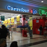 Photo taken at Carrefour by Herdiansyah P. on 1/11/2013