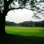 Photo taken at Sunken Garden by Erika R. on 10/6/2012