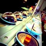 Photo taken at YO! Sushi by Elliott N. on 9/18/2013