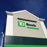 Photo taken at TD Bank by Charlie P. on 2/6/2013