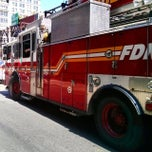 Photo taken at FDNY Ladder 3 by andre r. on 7/26/2014