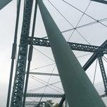 Photo taken at South Washington Street Bridge by Mike W. on 10/4/2014