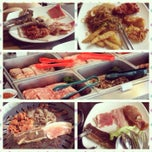 Photo taken at Blue Garden Korean BBQ Restaurant by Shirley M. on 2/17/2014