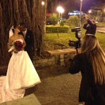Photo taken at Praça São Benedito by Ivellen L. on 5/11/2013