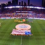 Photo taken at BBVA Compass Stadium by Aaron E. on 7/28/2013