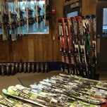 Photo taken at Middlebury Snow Bowl Ski Shop by Derrick C. on 10/19/2012