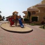 Photo taken at Blue Beach Resorts || شاليهات الشاطئ الأزرق by Tahani A. on 10/22/2012