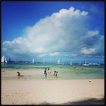 Photo taken at White Beach, Boracay Island by Jobie D. on 12/28/2012