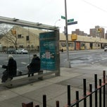 Photo taken at MTA 35th Ave & 21st Street Bus Stop by Michael W. on 12/16/2012